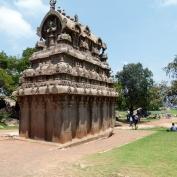 Ce temple est taillé dans un seul bloc de granit
