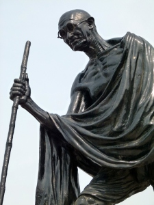 Statue sur Marina Beach à Chennai