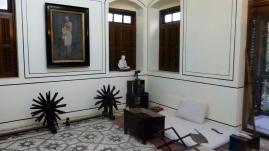 La chambre de Gandhi